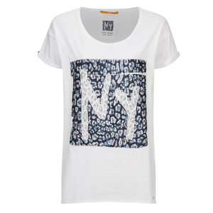 BOSS Orange Women's Talmaya T-Shirt - White