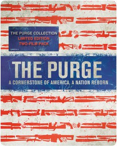 The Purge/The Purge: Anarchy: Limited Edition Steelbook