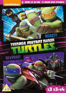 Teenage Mutant Ninja Turtles – React & Revenge! (S3, V3 & V4)