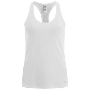 Under Armour Womens HeatGear Armour Tank Top – White