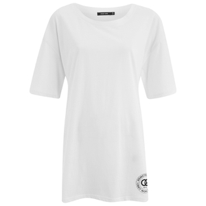 OBEY Clothing Women's Rue De La Ruine Orwell Tunic T-Shirt - White