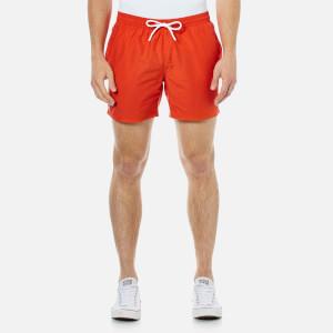Lacoste Men's Classic Swim Shorts - Etna Red