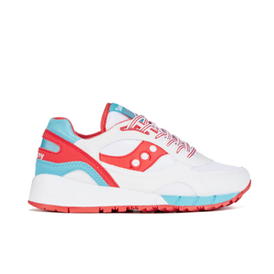 Saucony Shadow 6000 Trainers - White/Red