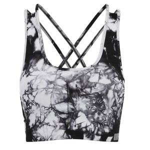 Myprotein Women's High Support Sports Bra - Black Tie Dye
