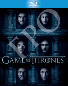 Game of Thrones Season 1-6 on Blu-ray