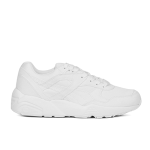 Puma Running R698 Low Top Trainers - White/Vaporous Grey