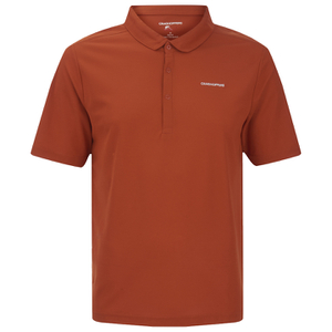 Craghoppers Men's Nosilife Nemla Polo Shirt - Burnt Orange