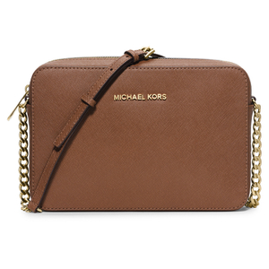 MICHAEL MICHAEL KORS Women's Jet Set Large East West Cross Body - Luggage