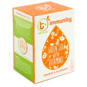t+ Immunity Tea - Orange and Blueberry