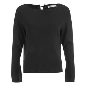 ONLY Women's Kari Long Sleeve Knitted Pullover - Black