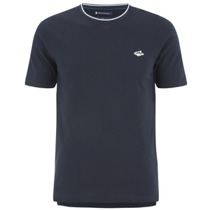 Le Shark Men's Horace Crew Neck Pique T-Shirt - True Navy