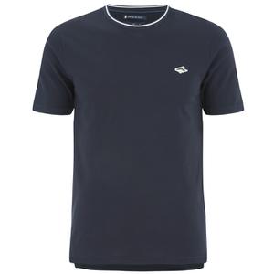 Le Shark Men's Horace Crew Neck Pique T-Shirt - True Navy
