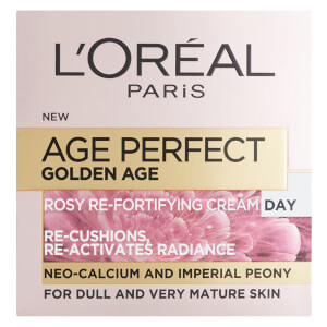 Crema de día Age Perfect Golden Age Rosy Refortifying Day Cream de L'Oréal Paris (50 ml)