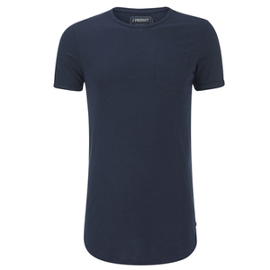Produkt Men's Long Line T-Shirt - Navy Blazer