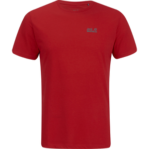 Jack Wolfskin Men's Essential Function T-Shirt - Red Fire