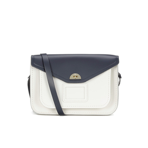 The Cambridge Satchel Company Women's Twist Lock Satchel - Navy/Clay