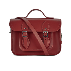The Cambridge Satchel Company Women's 11 Inch Magnetic Batchel - Red