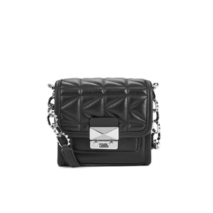 Karl Lagerfeld Women's K/Kuilted Crossbody Bag - Black