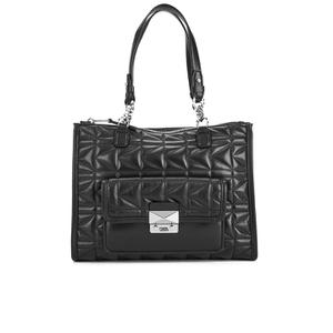 Karl Lagerfeld Women's K/Kuilted Tote Bag - Black