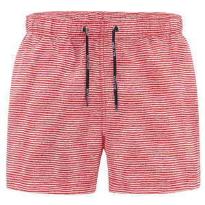 Tommy Hilfiger Men's Aiden Printed Swim Shorts - Tomato