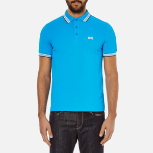 BOSS Green Men's Paddy Polo Shirt - Bright Blue