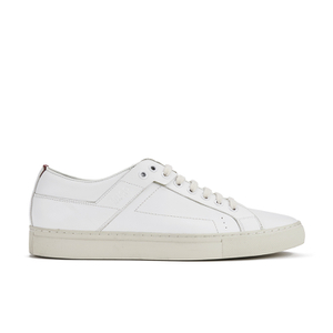 HUGO Men's Futurism Leather Cupsole Trainers - Open White
