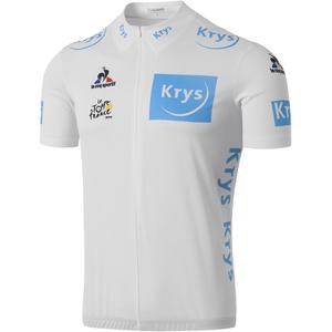 Le Coq Sportif Men's Tour de France 2016 Young Riders Classification Official Jersey - White