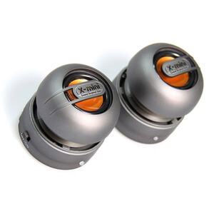 X-Mini Max Capsule Speaker Pair - Gunmetal