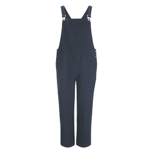 Ganni Women's Brown Dungaree - Total Eclipse