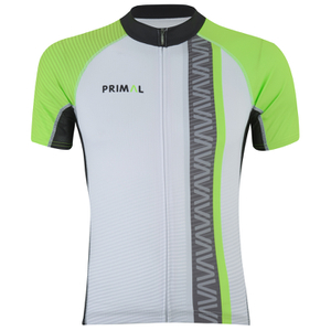 Primal Frequency Evo Short Sleeve Jersey - Green
