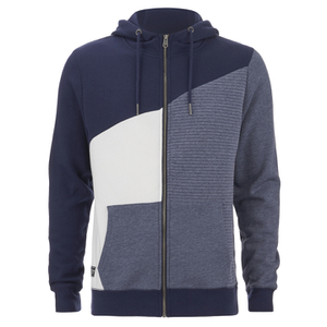 Threadbare Men's Wyoming Zip Through Hoody - Navy