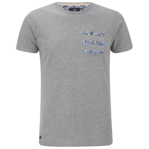 Threadbare Men's New Orleans Pocket T-Shirt - Grey Marl