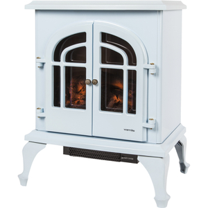 Warmlite WL46001BB/MOB Log Effect Stove Fire - Baby Blue - 2000W