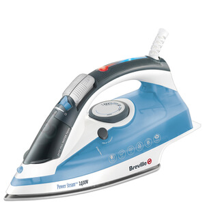 Breville VIN253 Steam Iron - Blue - 2400W