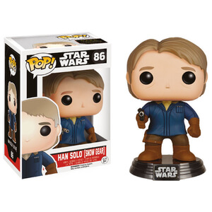 Star Wars The Force Awakens Han Solo Snow Gear Funko Pop! Bobblehead Figuur