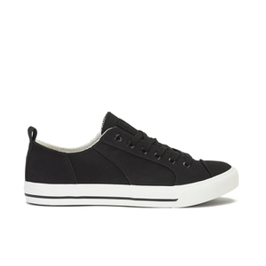 Crosshatch Men's Kashvault Suedette Trainers - Black