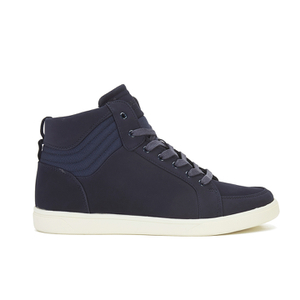 Crosshatch Men's Borneo High Top Trainers - Navy