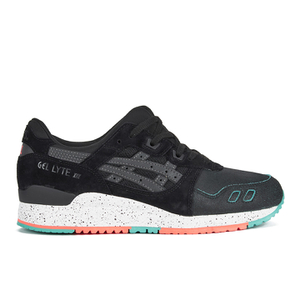 Asics Men's Gel-Lyte III 'Miami Pack' Trainers - Black/Black