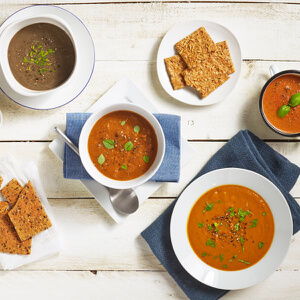 Exante Diet Box of 7 Mixed Soups