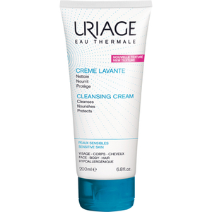 Uriage Soap Free Cleansing Cream for Face, Body and Scalp (200ml)