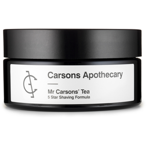 Carsons Apothecary Mr Carsons' Tea Shaving Cream