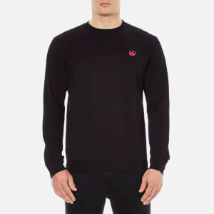 McQ Alexander McQueen Men's Crew Neck Sweatshirt - Darkest Black
