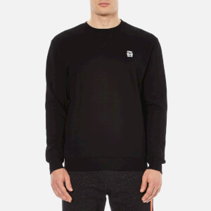 McQ Alexander McQueen Men's Coverlock Crew Sweatshirt - Darkest Black