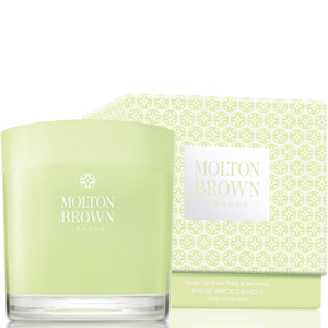Molton Brown Dewy Lily of the Valley & Star Anise Three Wick Candle 480g