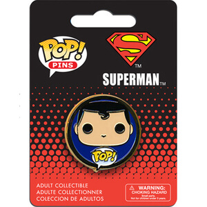 DC Comics Superman Pop! Pin
