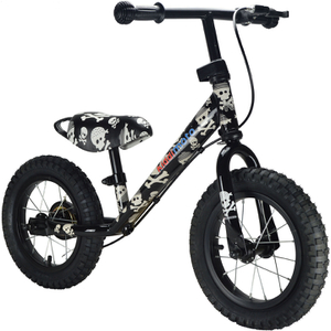 Kiddimoto Super Junior Max Decal Bike - Skullz