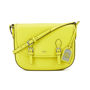 Lauren Ralph Lauren Women's Messenger Bag - Citron