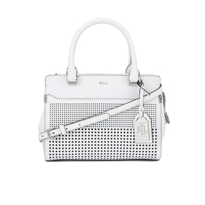 Lauren Ralph Lauren Women's Yolanda Convertible Satchel Bag - Bright White