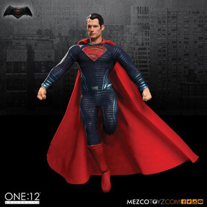 Mezco Toys DC Comics Batman v Superman Dawn of Justice Superman 6 inch Figure