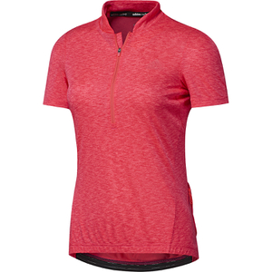 adidas Women's Response Team Short Sleeve Jersey - Shock Red